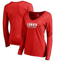 New Mexico Lobos Women's Team Strong Long Sleeve T-Shirt - Red