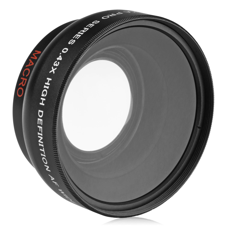 + Lens Cap Holder Digital Nc Nikkor VR 10-100 mm f//4.5-5.6 PD Zoom Lens Cap Center Pinch 72mm Nwv Direct Microfiber Cleaning Cloth.