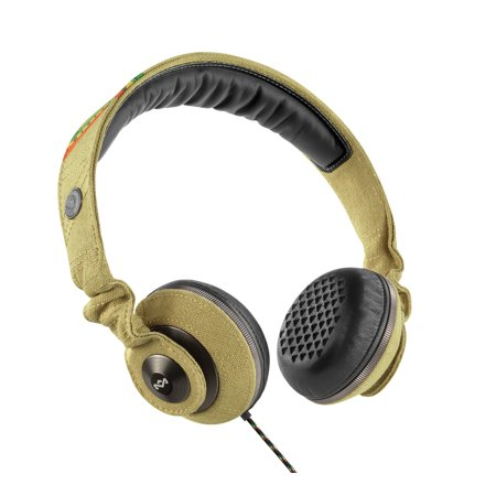 House Of Marley Riddim Desert On-Ear Headphones EM-JH053-DT