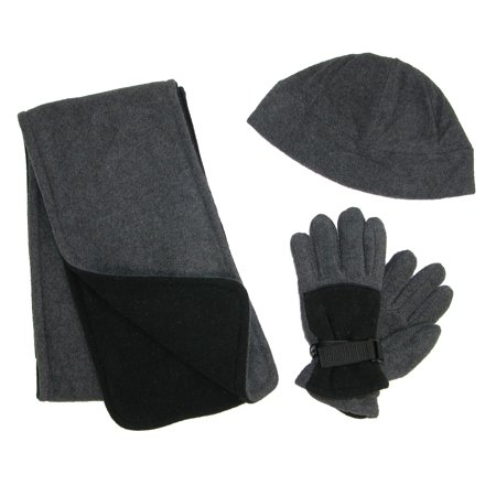 Ctm   Kids 4 7 Fleece Hat Scarf And Gloves Set