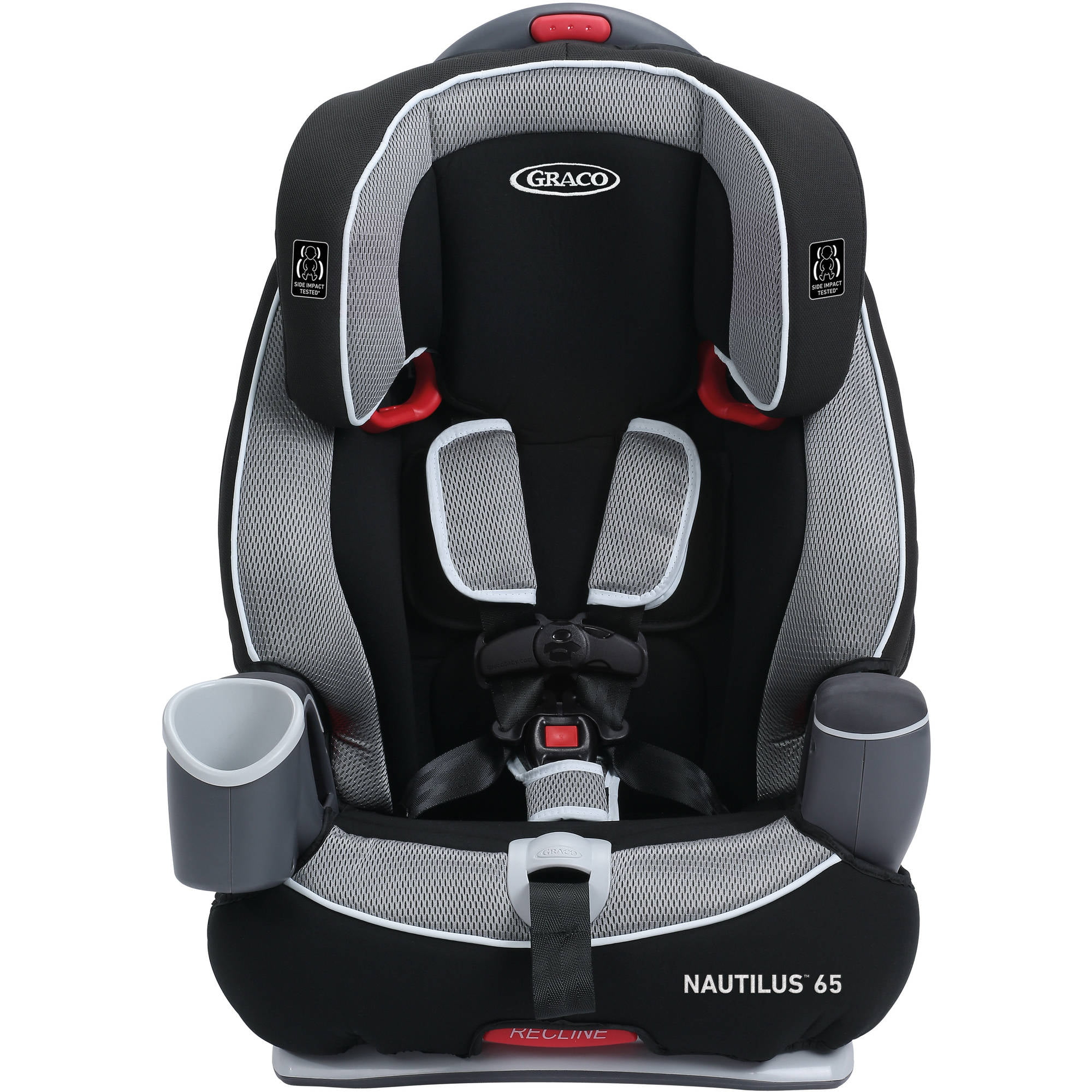 New Graco Nautilus 65 3 In 1 Multi Use 5 Point Harness Booster Car Seat Track