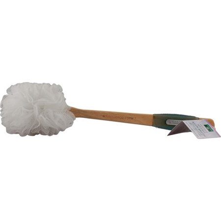 Earth Therapeutics Hydro Back Brush White 1 Brush