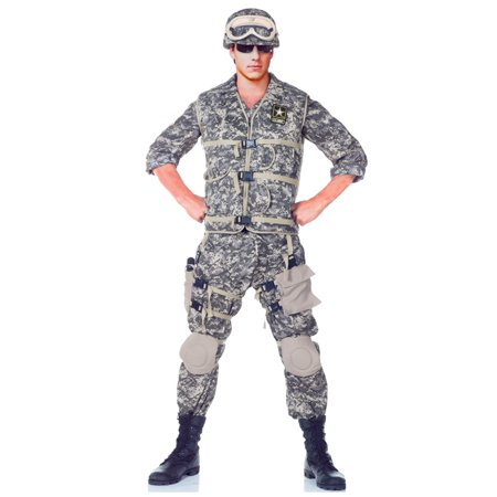 Army Costumes For Teens (Teen Deluxe U.S. Army Ranger)