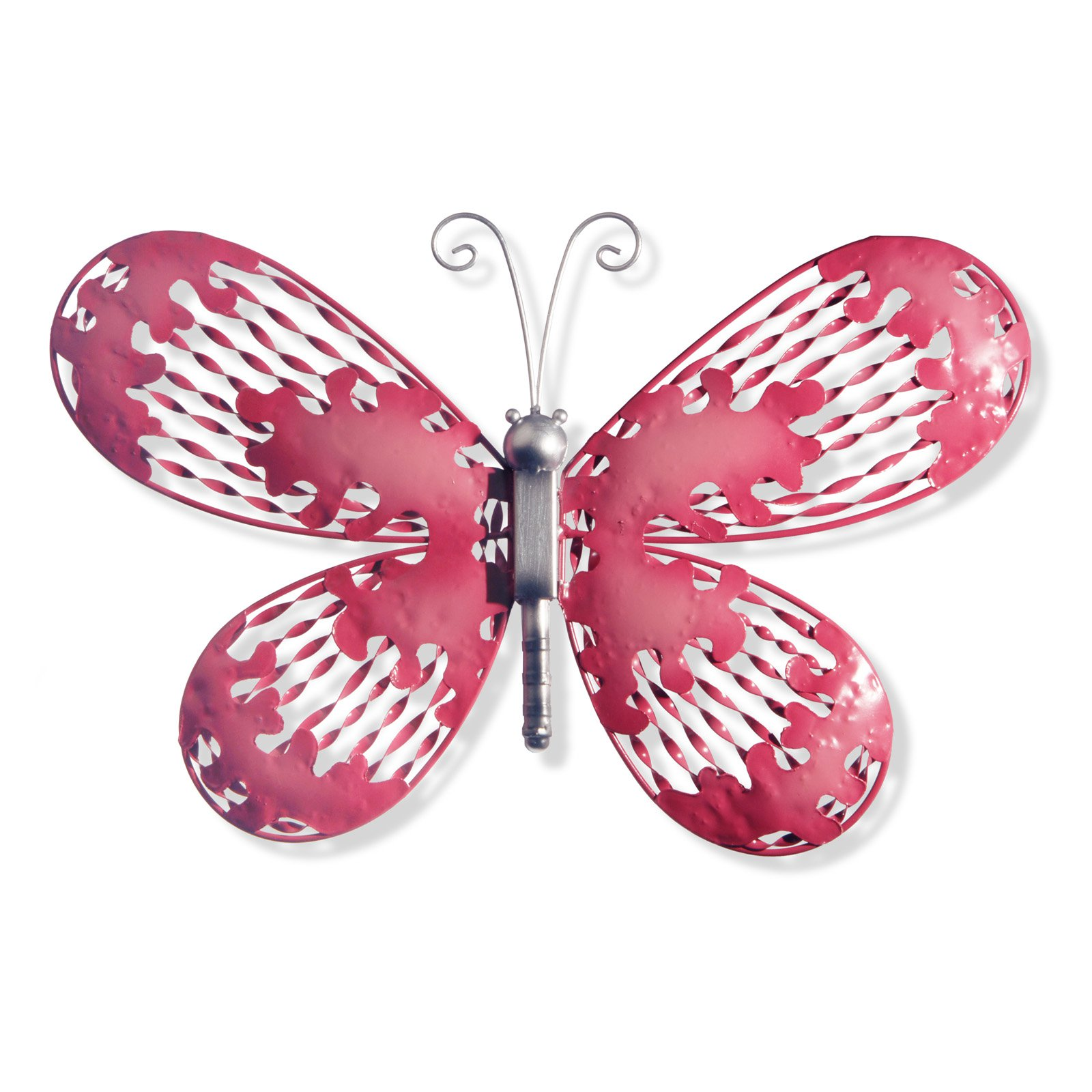 """18"""" Pink Butterfly Wall Decoration"""
