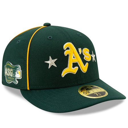 Oakland Athletics New Era 2019 MLB All-Star Game On-Field Low Profile 59FIFTY Fitted Hat - (Best Mtb Helmet Light 2019)