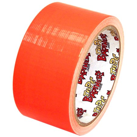 Ultra Bright Neon Orange Duct Tape 2