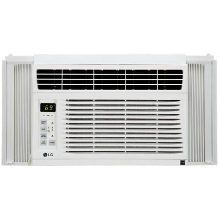 Lg electronics lw6015 rb 6 000 btu window air conditioner for 1 5 ton window ac unit consumption per hour