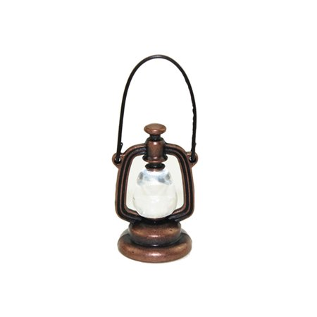 Tuscom 1/12 Scale Miniature Dollhouse Accessories Decoration Mini Oil Lamp Kids Toy