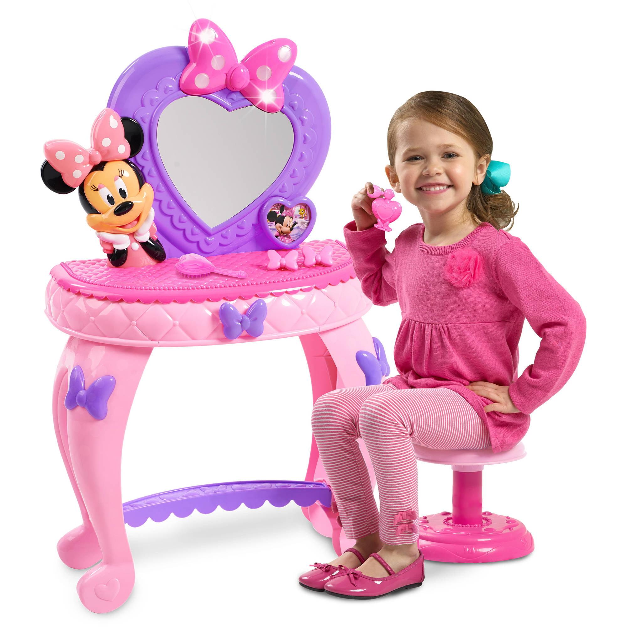 Disney minnies bowdazzling vanity walmart geotapseo Images