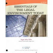 Essentials of the Legal Environment Today