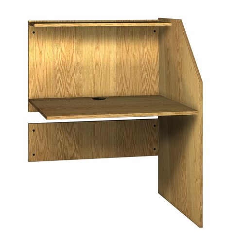 Ironwood General Wood 47.88'' Study Carrel