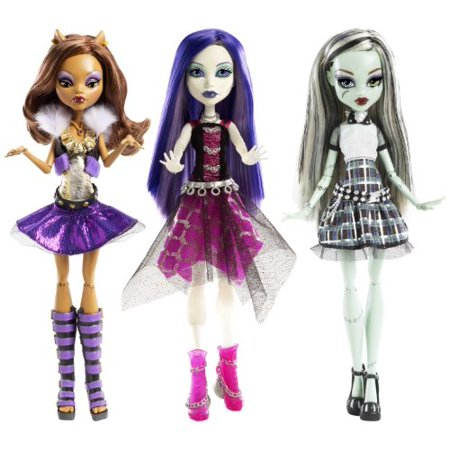 Monster High Ghouls Alive Clawdeen