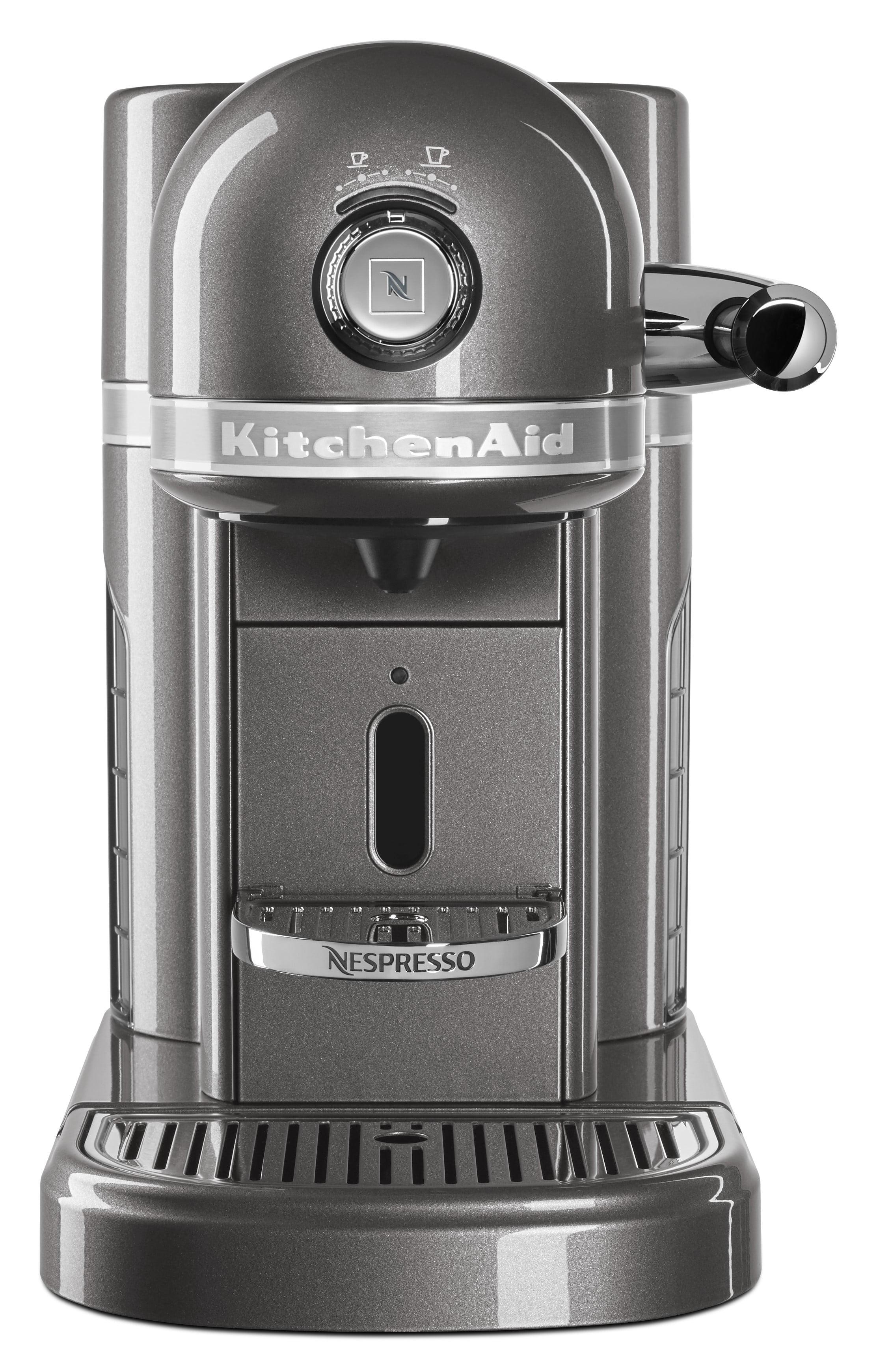 f95c2f486101 Nespresso Espresso Maker by KitchenAid with Milk Frother (KES0504MS) -  Walmart.com