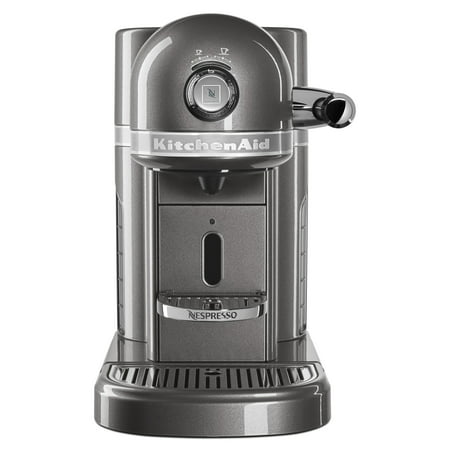 Nespresso Espresso Maker by KitchenAid with Milk Frother (KES0504MS) (Kitchenaid Espresso Machine)