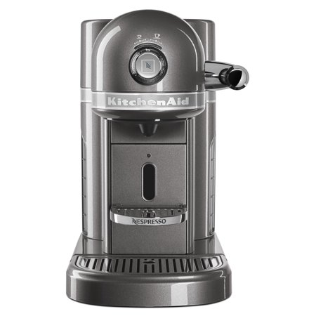 Nespresso Espresso Maker by KitchenAid with Milk Frother (KES0504MS) ()