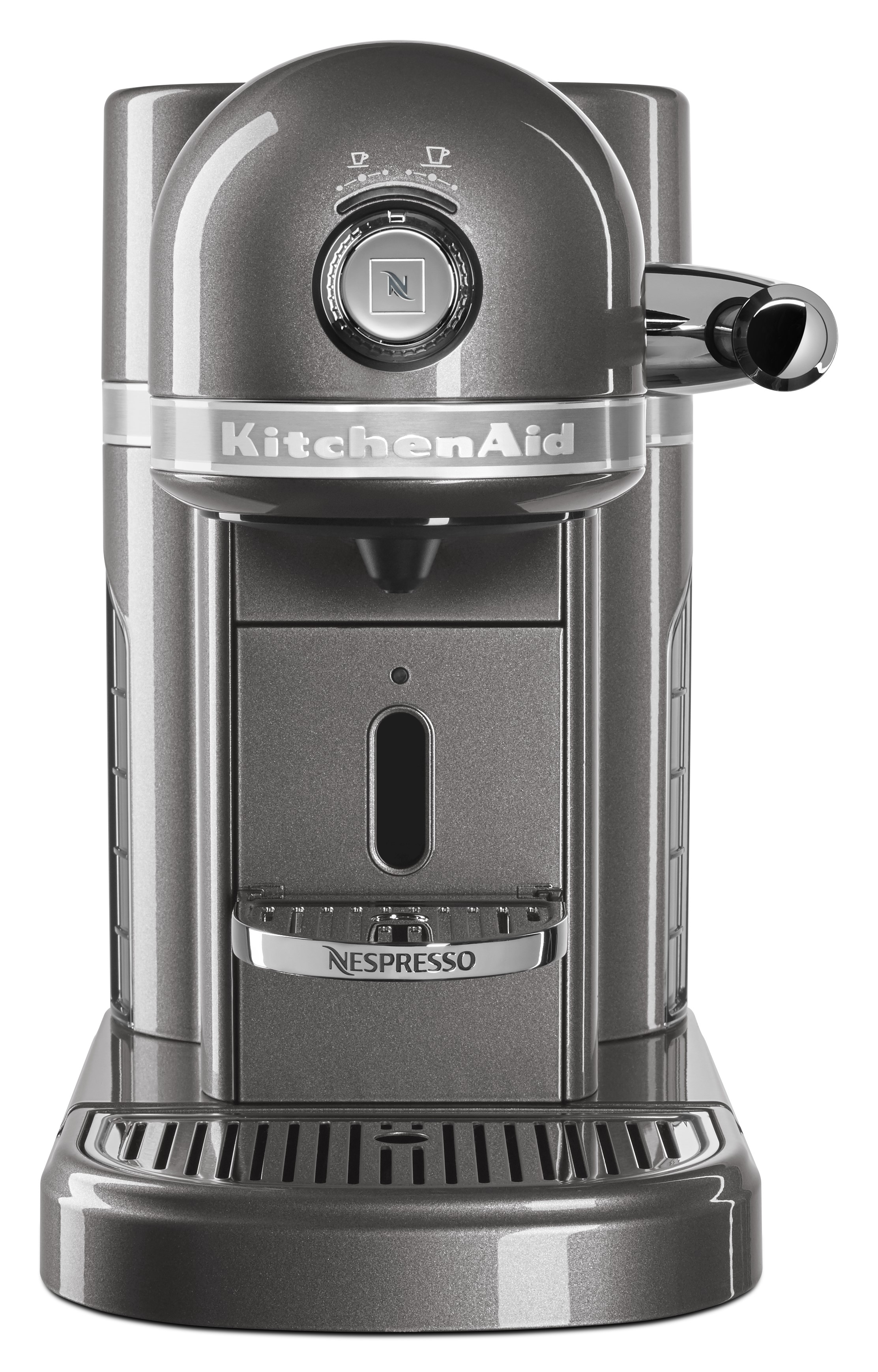 KitchenAid KES0504MS with Milk Frother Nespresso Espresso Maker