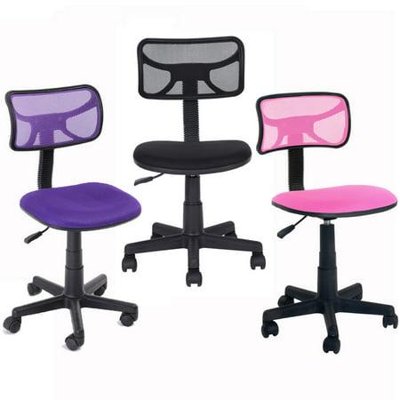 Ktaxon ergonomic mid back chair mesh office computer task chair adjustable student kids swivel - Ergo kids task chair ...