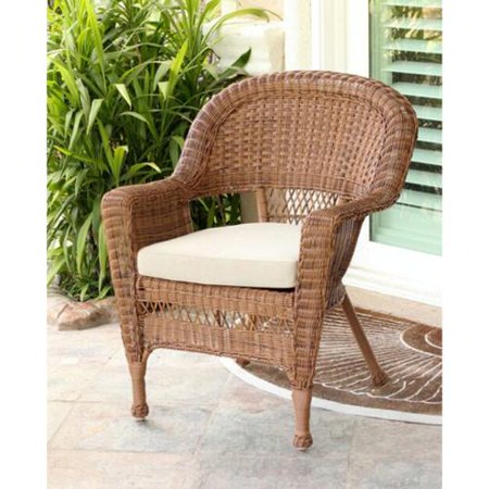 36 Quot Honey Brown Resin Wicker Outdoor Patio Garden Chair