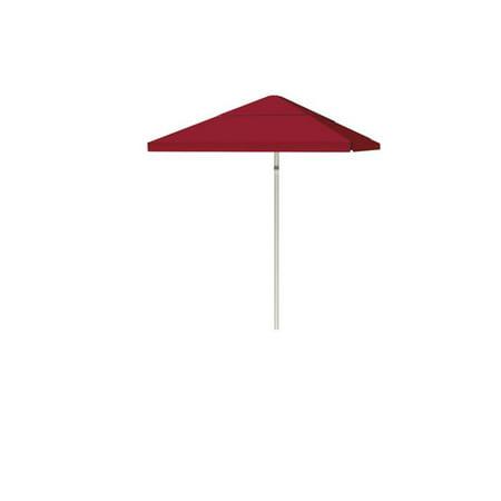 Best of Times 1020W1306 Parasol de patio de 8 pi avec cadre et -vents en acier - Bleu classique - image 1 de 1