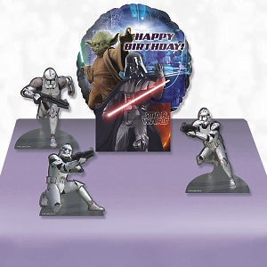 Star Wars 'Feel the Force' Decorative Balloon Centerpiece (4pc)