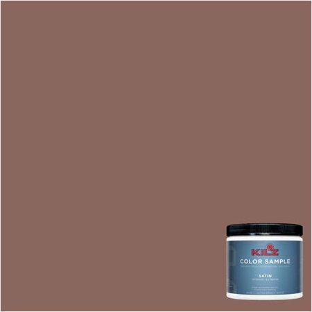 Kilz Complete Coat Interior Exterior Paint Primer In One Lb290 01 Brown Chipotle