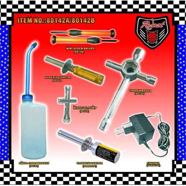 Redcat Racing 80142A Nitro Starter Kit - For Redcat RC Racing Vehicles