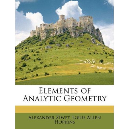 Elements of Analytic Geometry - image 1 of 1