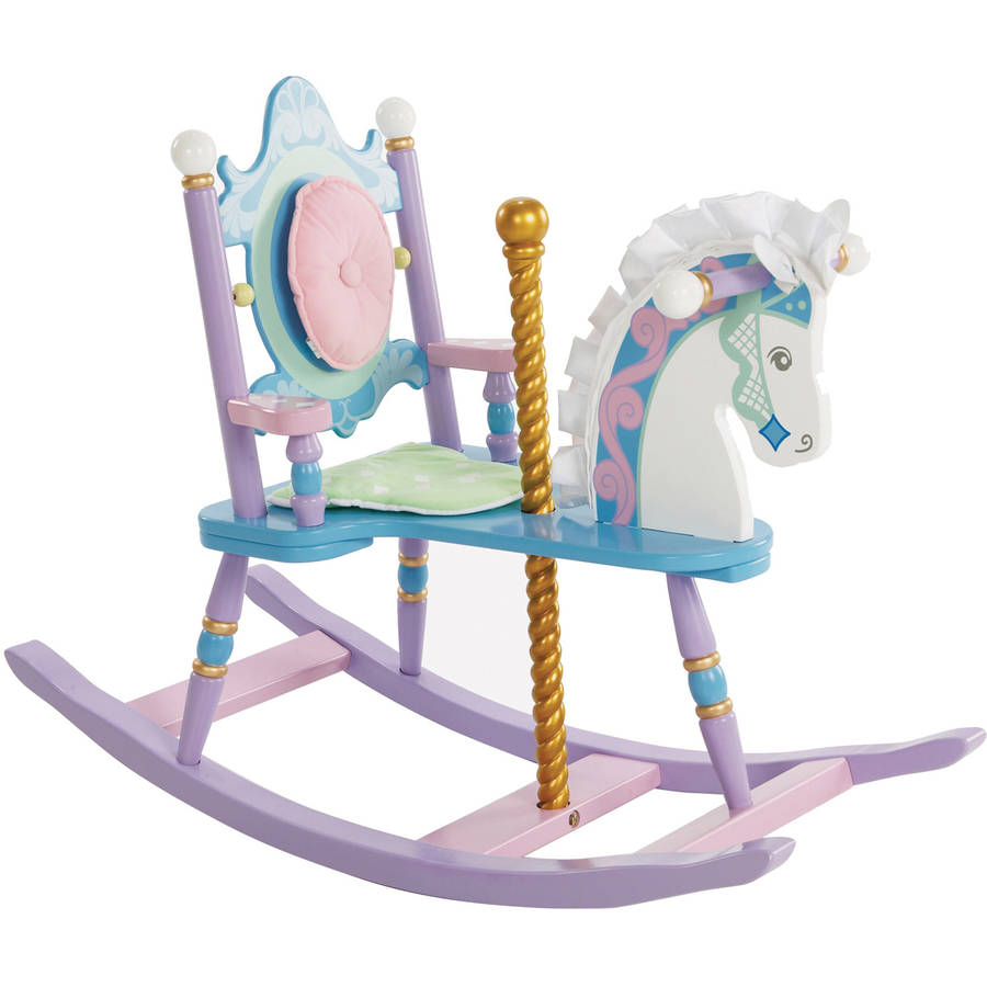 Wildkin Carousel Rocking Horse