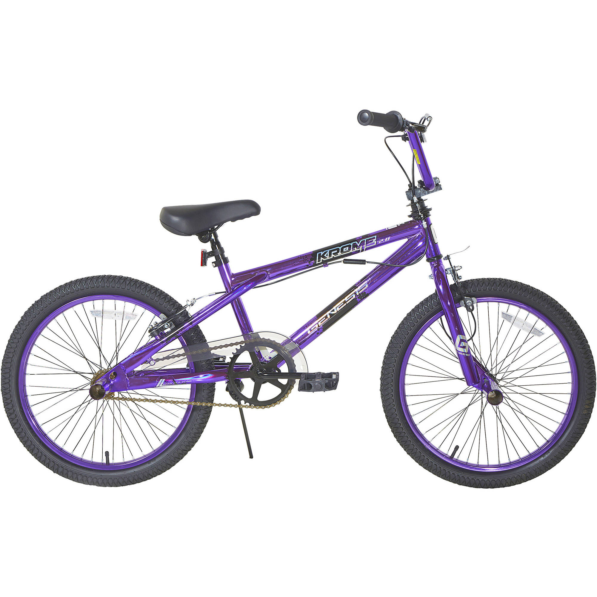 "20"" Genesis Girls' Krome 2.0 Bike, Purple"