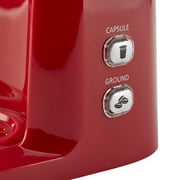 Mainstays Single Serve And K Cup Brew Coffee Maker Red Walmartcom