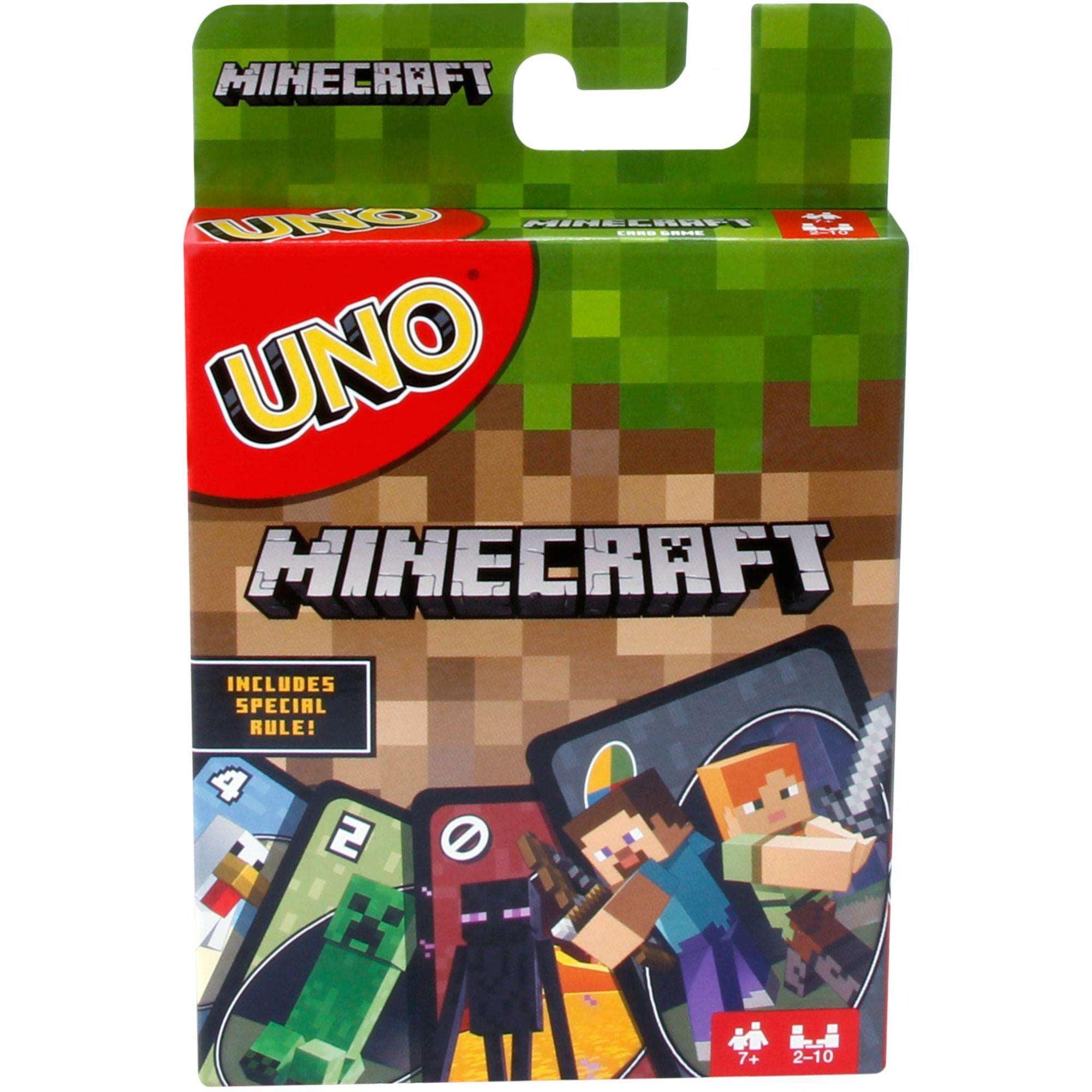 UNO Minecraft Card Game by Mattel