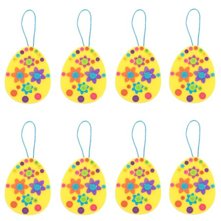 Set of 12 DIY Easter Egg Ornament Craft Kit](Ornament Craft)