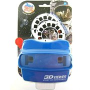 Big Game Toys~3D Space Viewer 21 Photo Images Viewmaster Astronauts Rockets Ships Spaceship 3 View Master reels