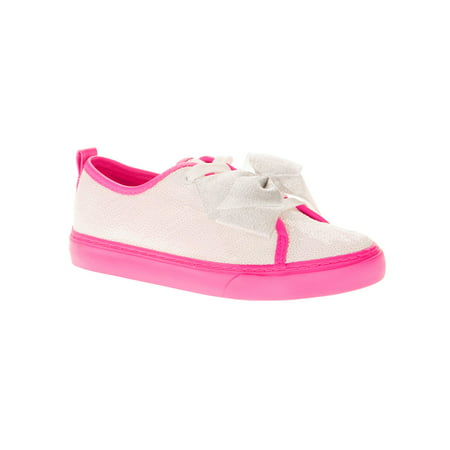 Casual Shoes Brands (Jojo Siwa Girls' Reverse Sequin Low Top Casual Sneaker)