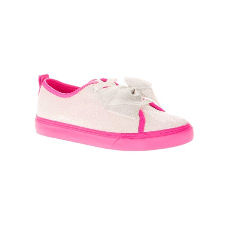 Jojo Siwa Girls' Reverse Sequin Low Top Casual Sneaker - Cute Shoes For Girls