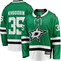 Anton Khudobin Dallas Stars Fanatics Branded Breakaway Player Jersey - Kelly Green