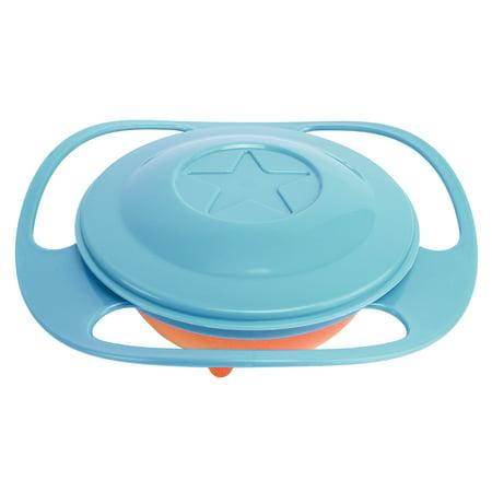 Universal Gyro Bowl Anti Spill Bowl Smooth 360 Degrees Rotation Gyroscopic Bowl For Baby Kids (Gyroscopic Bowl)