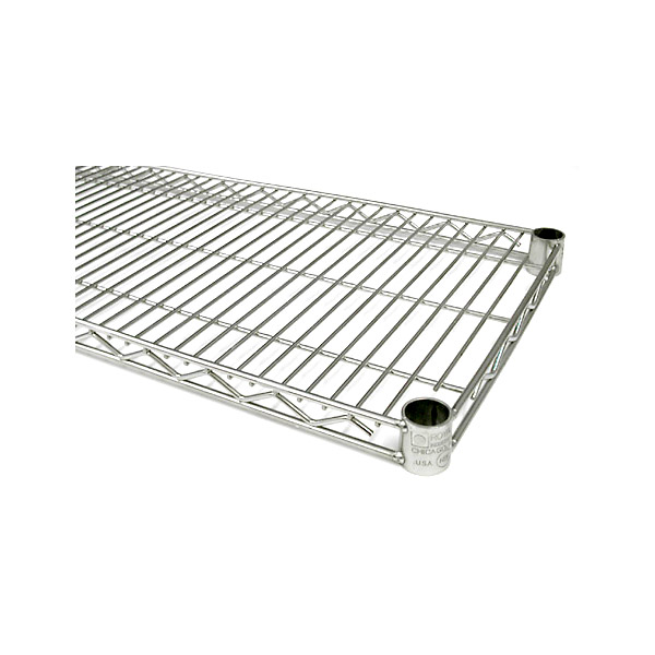 "24"" Deep Wire Shelving - Case of 4 - 24-inches"