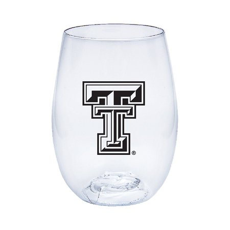 Texas Tech Red Raiders Govino Shatterproof Flexible Wine or Beverage Glass