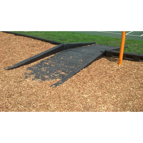 Action Play Systems ADA Ramp in Black