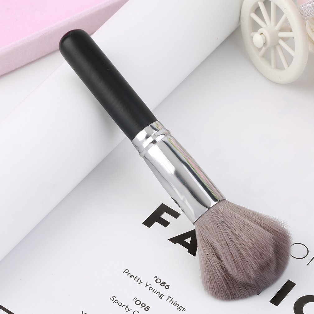 1Pcs Carbon Fiber Face Powder Foundation Contour Blush Cosmetic Makeup Brush