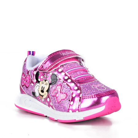 Disney Minnie Mouse Polka Dot Light-Up Sneaker
