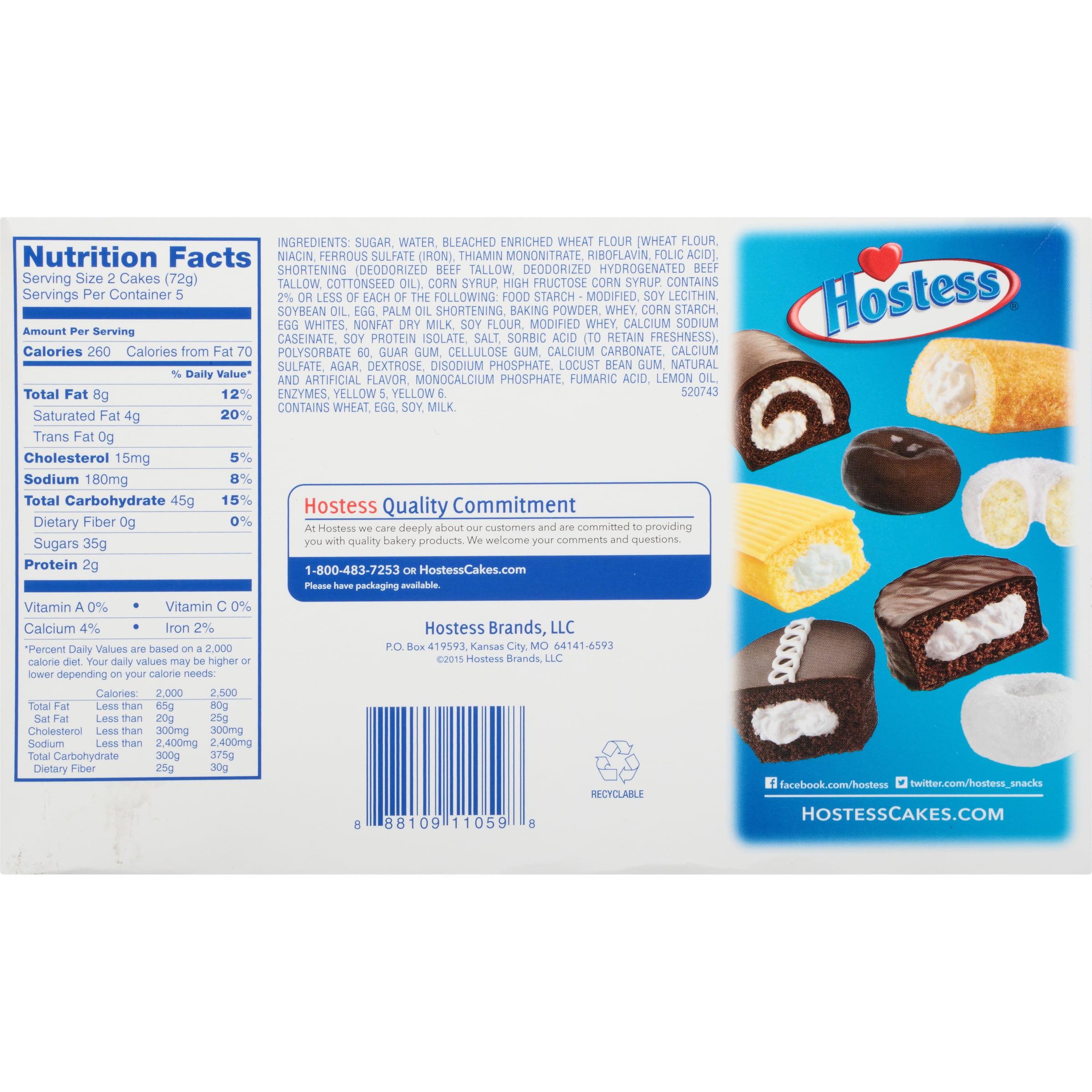 Hostess® Zingers® 12 7 oz  Package