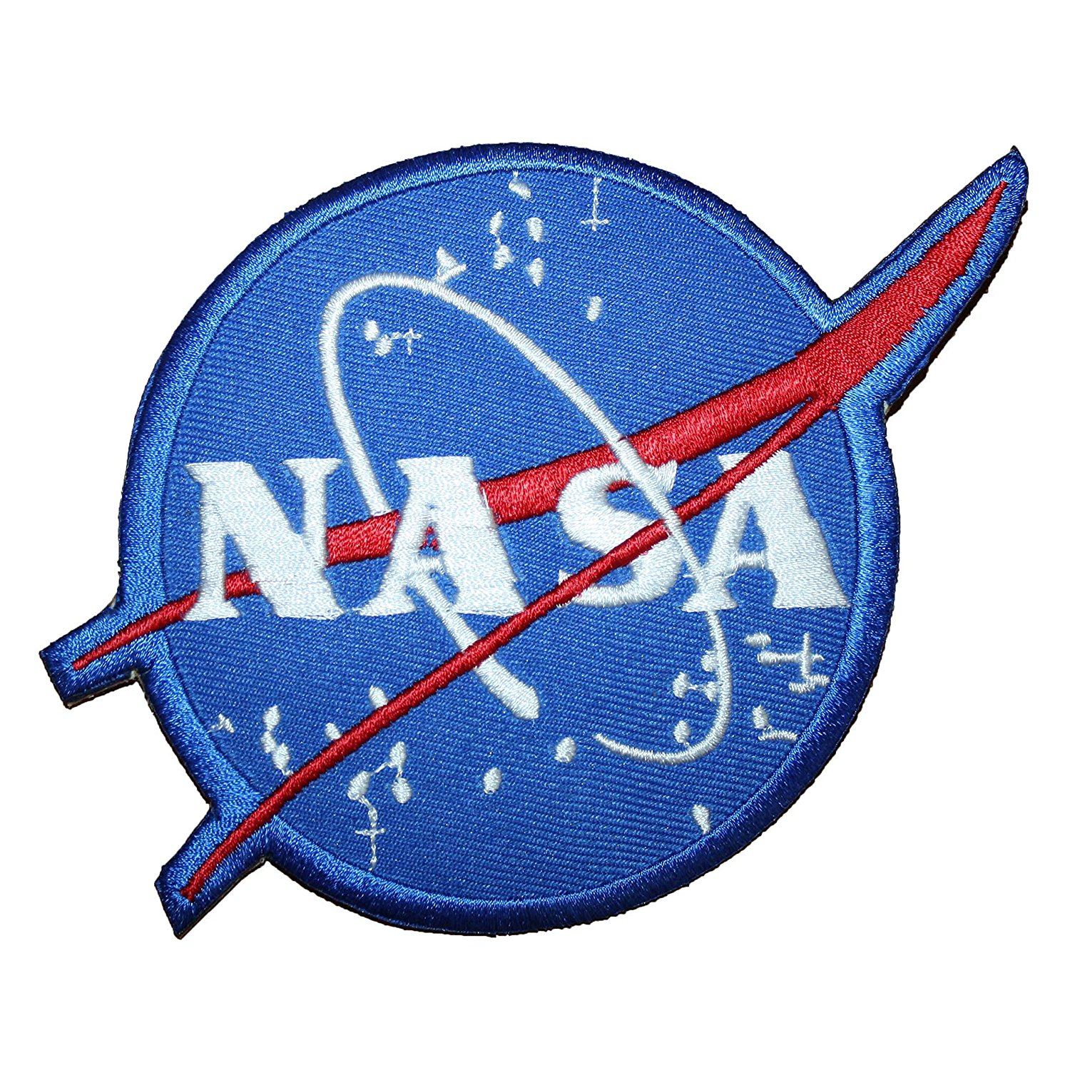 Armageddon NASA Vecto EMBROIDERED PATCH Badge Iron-on, Sew On 5""