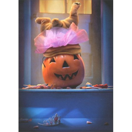 Avanti Press Dog Legs in Pumpkin Funny / Humorous Halloween - Halloween Photo Cards Target