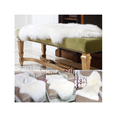 Solid Irregular Shape Artificial Wool Living Room