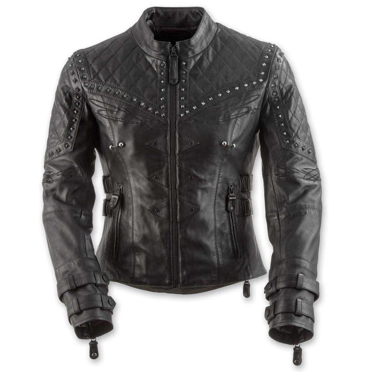 Black Brand Women's  Women's Brazilian Wax Leather Jacket