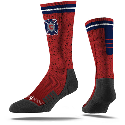 Chicago Fire Premium Sublimated Crew Socks - Red - M/L