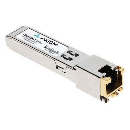 Axiom Sfp+ Module - For Data Networking 1 10gbase-t Network - Twisted Pair10 Gigabit Ethernet - 10g - image 1 of 1