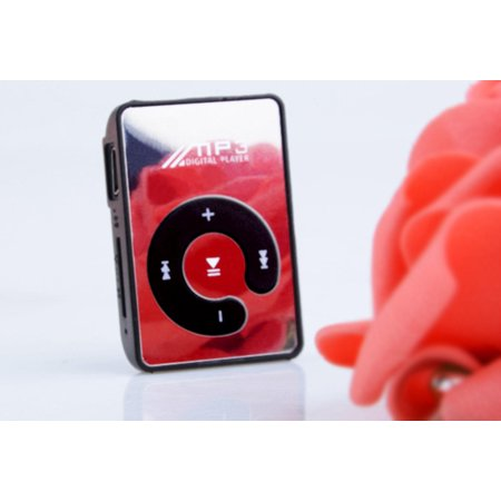 Portable Clip Mirror MP3 Player  FM Radio MP3 Player Support Micro (M03 Chassis)